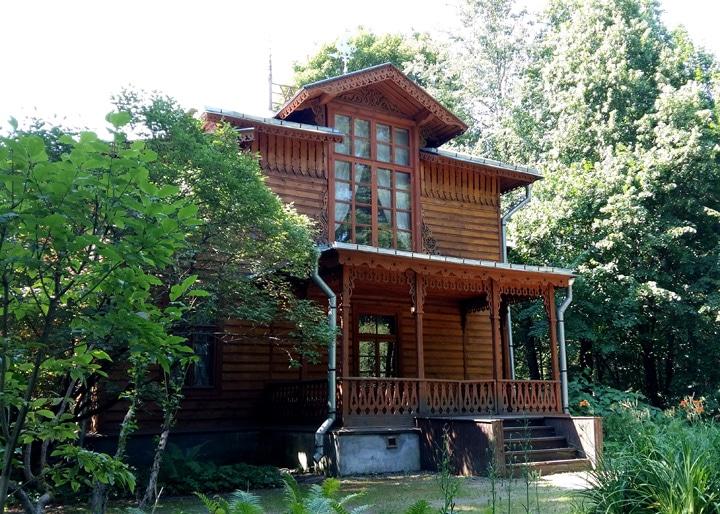 Дом-музей художника Чистякова с дубовым каркасом